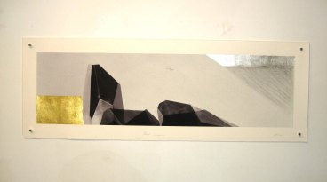 About Compression & Extraction, 2009 Mixed Medium on Rag Paper 50 x 1000mm