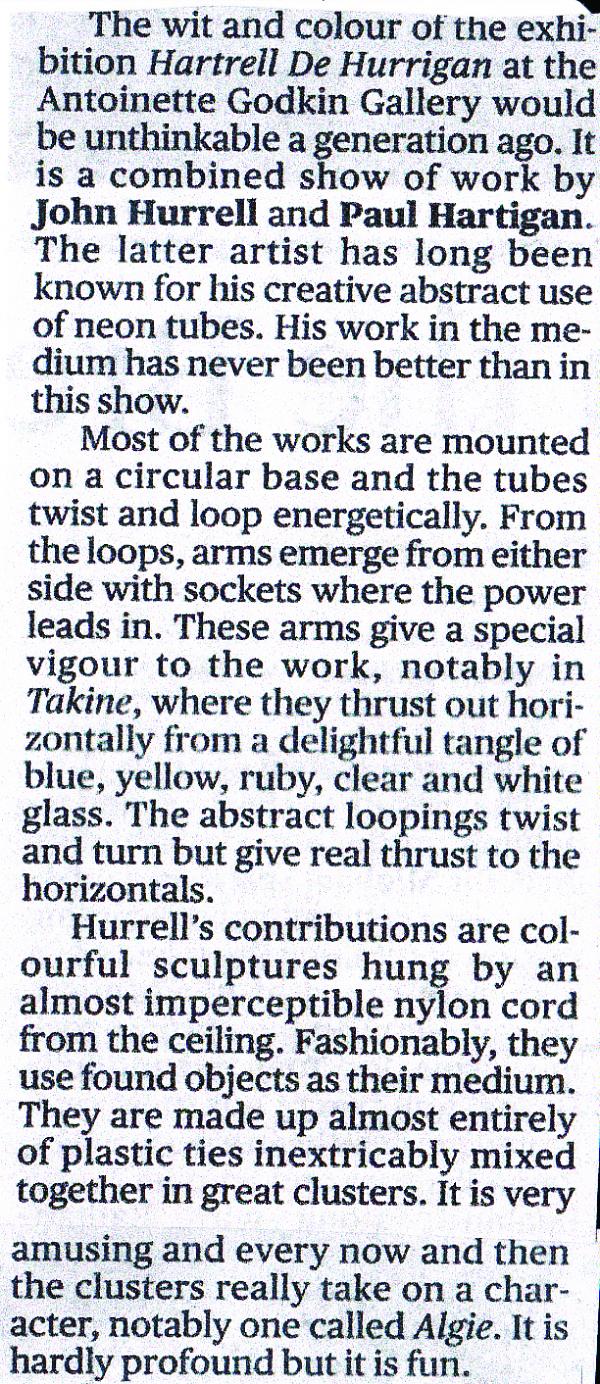 Hartrell de Hurrigan review