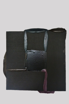 Black Malevich 2015, Acrylic and wood, 610 x 610 mm