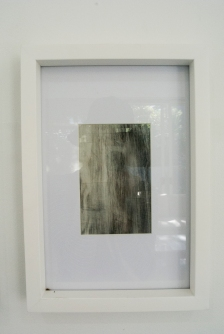 ESTHER LEIGH Graphite and paint on polyester film 225 x 325 mm