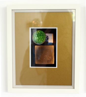 Pavo (iii) green reflector - digital print on Ilford Galerie Metallic Gloss 260gram paper, edition of 1