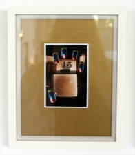 Pavo (xv) nails - digital print on Ilford Galerie Metallic Gloss 260gram paper), edition of 1