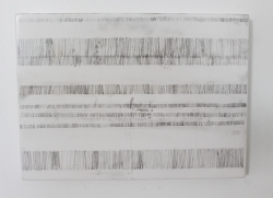 ESTHER LEIGH Waves 2016 Graphite, enamel on board 200 x 275 mm