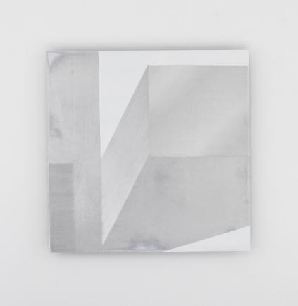 Diane Scott, Little Light, Enamel and aluminium 398 x 398mm